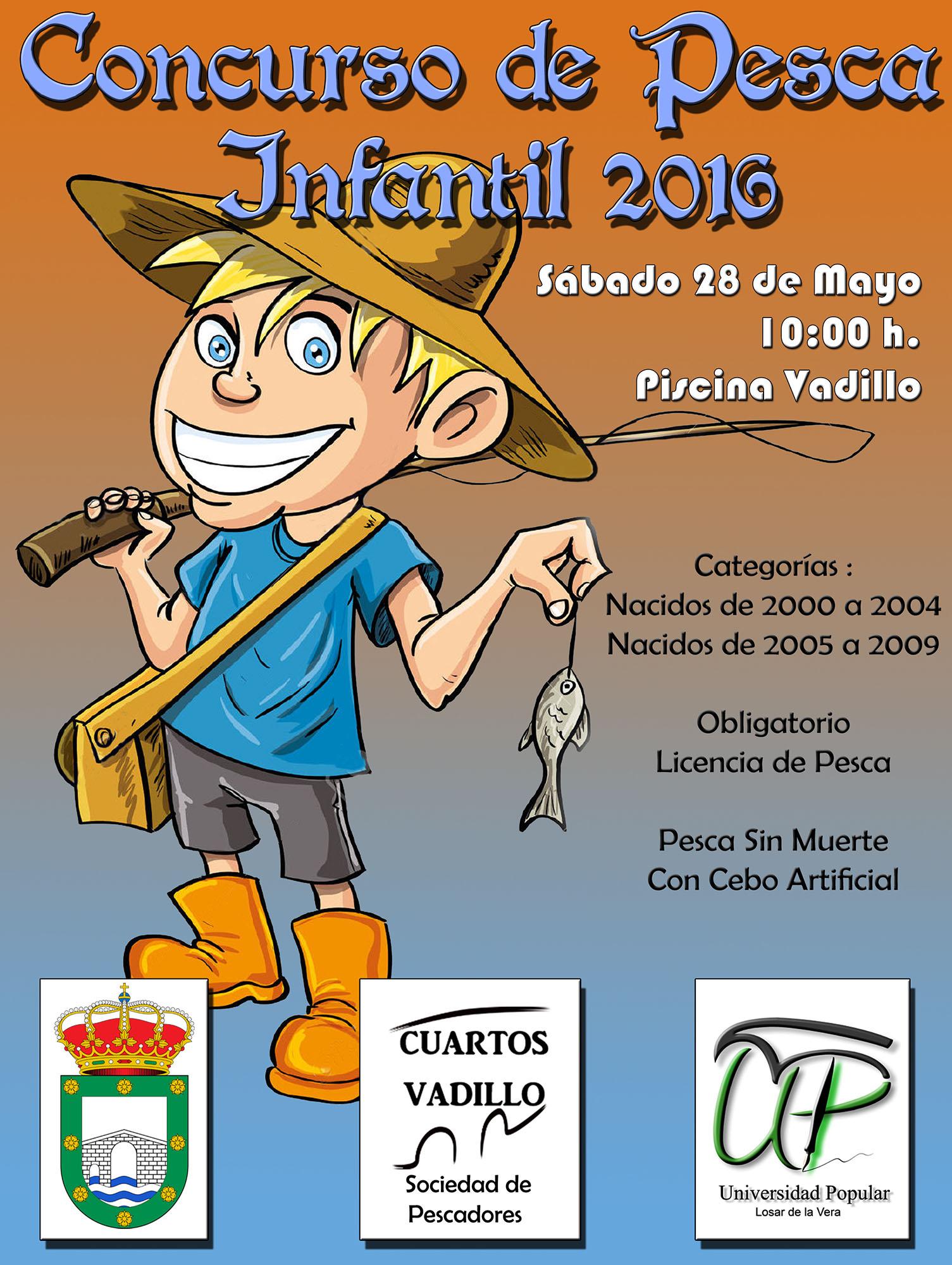 Concurso de pesca infantil 2016 for Concurso de docencia 2016