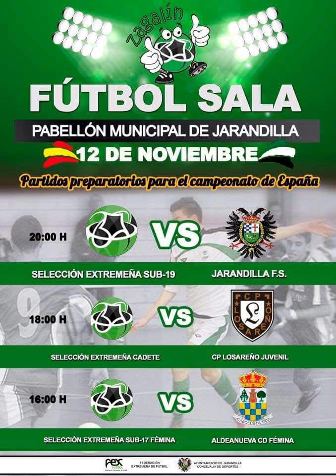Partidos preparatorios para el Campeonato de España de Fútbol Sala b7c2dcc580c5b