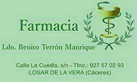 Farmacia Benito Terrón